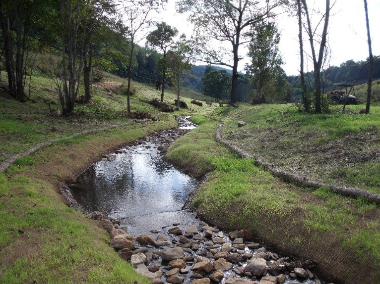 Dog Bite Stream Restoration Project – Bakersville, NC